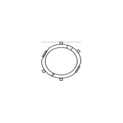 MERCEDES ACTROS (960.820) Esiklaas