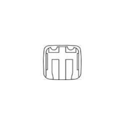 MITSUBISHI LANCER V [G41] esiklaas